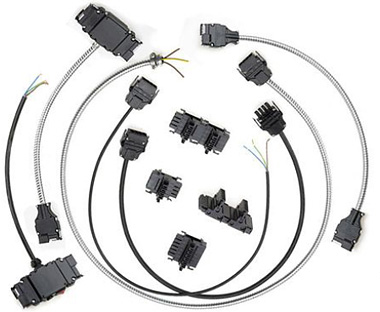 Modular wiring Systems plugs